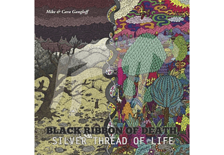 Mike & Cara Gangloff - Black Ribbon Of Death,Silver Death - (Vinyl)