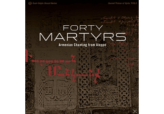 Very Reverend Yeznig Zegchanian - Forty Martyrs: Armenian Chants From - (Vinyl)