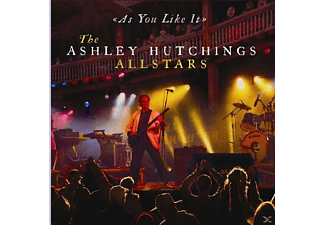 The Ashley Hutchings Allstars - As You Like It-Live [CD]