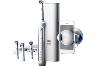 ORAL-B Genius 8200 Cross Action Uppladdningsbar Eltandborste - Vit