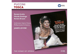 LEVINE,JAMES/DOMINGO,PLACIDO/S - Tosca - (CD)