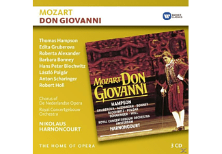 HARNONCOURT,N./HAMPSON,T./GRUBEROVA,E./HOLL - Don Giovanni [CD]