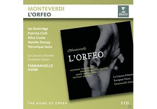 Natalie Dessay, Ian Bostridge, Le Concert d'Astrée, European Voices - L'Orfeo [CD]