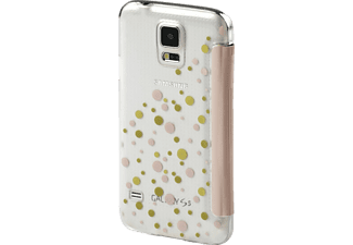 Candy Drops Bookcover Samsung Galaxy S5 Neo High-Tech-Polyurethan (PU)/Kunststoff Rosa