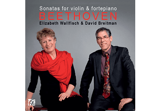 Elizabeth Wallfisch, David Breitman - Sonatas For Violin & Fortepiano Vol.2 - (CD)