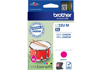 BROTHER Original Tintenpatrone Magenta (LC-22UM)