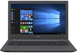 ACER Aspire E 15 (E5-574G-72N9), Notebook mit 15.6 Zoll Display, Core™ i7 Prozessor, 4 GB RAM, 500 GB HDD, GeForce 920M, Schwarz/Grau
