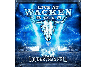 VARIOUS - Live At Wacken 2015-26 Years Louder Than Hell - (DVD + CD)