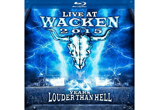 Live At Wacken 2015-26 Years Louder Than Hell [Blu-ray + CD]