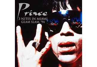 Prince - 3 Nites In Miami,Glam Slam,94 - (CD)