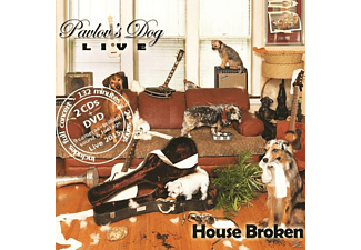 Pavlov's Dog - House Broken-Live 2015 [CD + DVD Video]