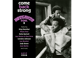 VARIOUS - Come Back Strong-Hotlanta Soul 4 - (CD)