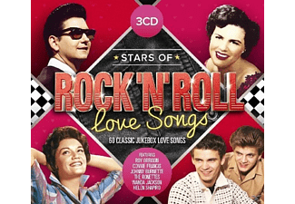 VARIOUS - Stars Of Rock'N'Roll Love Songs [CD]