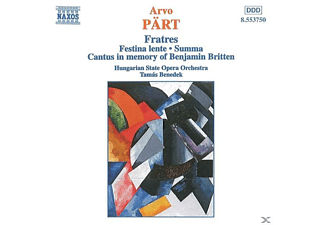 Hungarian State Orchestra, Benedek/Orch.D.Ung.Staatsop - Fratres/Festina Lente/Summa/+ - (CD)