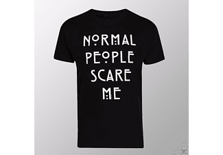 Normal People Scare Me (Shirt L/Black)