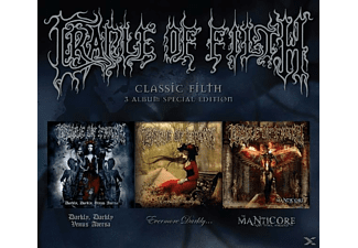 Cradle Of Filth - Classic Filth (3 Album Special Edition) [CD]