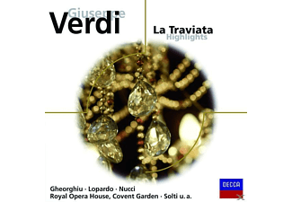 Solti, Rcgo, Gheorghiu/Lopardo/Nucci/ROHO/Solti - La Traviata Highlights - (CD)