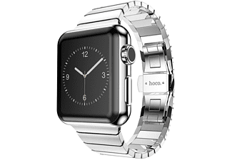HOCO Metal Apple Watch-bandje met 1 schakel 42mm Zilver