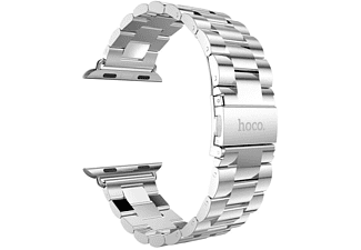 HOCO Metal Apple Watch-bandje met 3 schakels 42mm Zilver