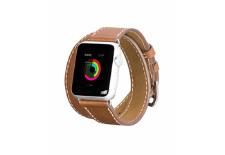 HOCO Platinum Apple Watch-bandje 42mm Bruin
