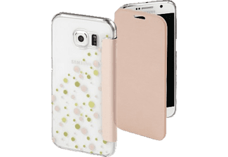 HAMA Candy Drops Bookcover Samsung Galaxy S6 High-Tech-Polyurethan (PU)/Kunststoff Rosa