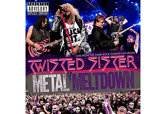 Twisted Sister - Metal Meltdown - (CD + Blu-ray + DVD)