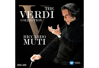 VARIOUS - The Verdi Collection - (CD + DVD Video)
