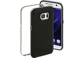 Planet Backcover Samsung Galaxy S7 Kunststoff Silber/Bronze