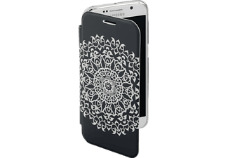 HAMA Boho Circle, Bookcover, Galaxy S7, Grau/Transparent