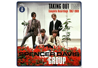 The Spencer Davis Group - Taking Out Time-Complete Recordings 1967-69/3CD - (CD)