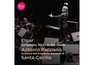Orch.dell'Accad.Nazion.di Santa Cecilia, Pappano - Sinfonie 1/In The South - (CD)