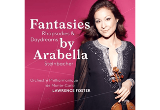 Arabella Steinbacher, Orchestre Philharmonique De Monte Carlo - Fantasies, Rhapsodies & Daydreams - (SACD Hybrid)