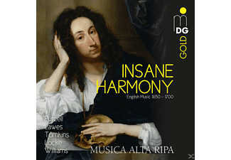 VARIOUS - Insane Harmony-englische Musik 1650-1700 - (CD)