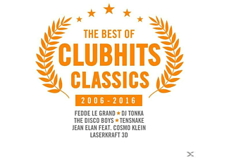VARIOUS - The Best Of Clubhits Classics 2006-2016 - (CD)