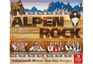 VARIOUS - Alpenrock-Volksmusik-Power a - (CD)