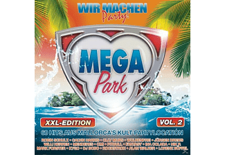 VARIOUS - Megapark XXL Edition Vol.2-Wir machen Party 201 [CD]