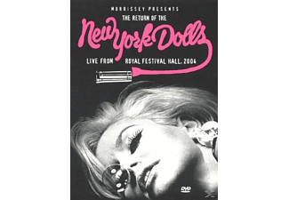 New York Dolls - Morrissey Presents: The Return of the New York Dolls, live from royal festival hall 2004 - (DVD)