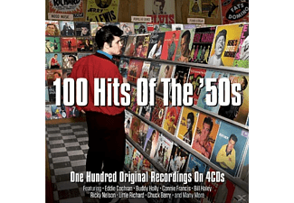 VARIOUS - 100 Hits Of The '50s [CD]