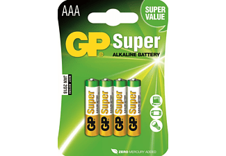 GP Super Alkaline AAA-batterijen