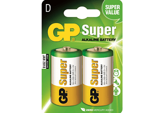 GP Super Alkaline D-batterijen