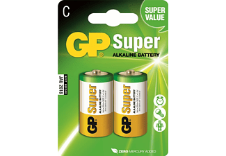 GP Super Alkaline C-batterijen
