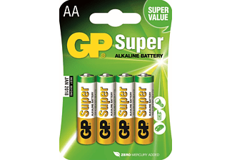 GP Super Alkaline AA-batterijen