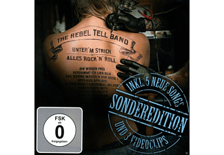 The Rebel Tell Band - Unterm Strich alles Rock 'N'Roll Sonderedition [CD]
