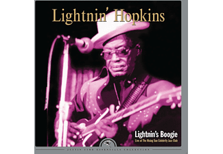 Lightnin' Hopkins - Lightnin's Boogie-Live At The Rising Sun Celebrit - (Vinyl)