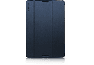 LENOVO Tab A10-70 Folio Case and Film Blauw