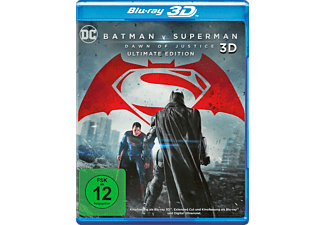 Batman v Superman: Dawn of Justice (Ultimate Edition + Blu-ray) [3D Blu-ray (+2D)]