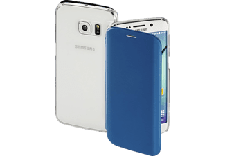HAMA Clear, Bookcover, Galaxy S6 Edge, High-Tech-Polyurethan (PU)/Kunststoff, Dunkelblau