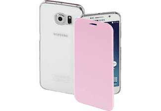HAMA Clear, Bookcover, Samsung, Galaxy S6, High-Tech-Polyurethan (PU)/Kunststoff, Rosa
