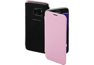 HAMA Clear, Bookcover, Galaxy S7, High-Tech-PU/Kunststoff, Rosa