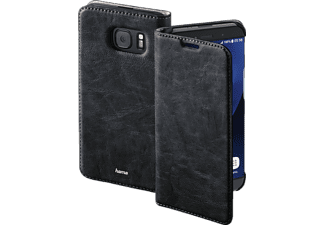 HAMA Guard Case, Bookcover, Galaxy S7 edge, Kunstleder, Schwarz